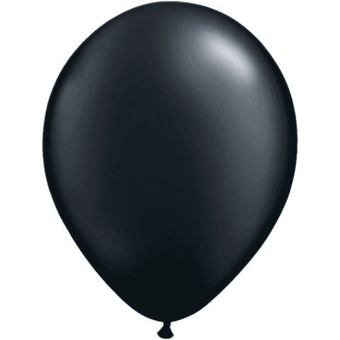 Black Latex Balloon - Little Whale
