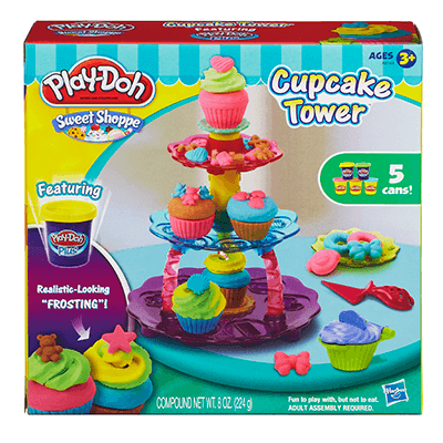 Cupcake Tower - Little Whale