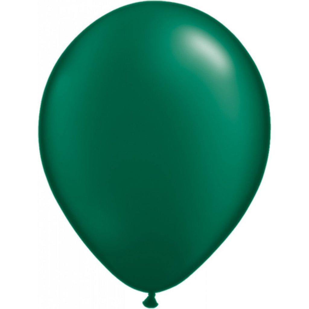 Green Latex Balloon - Little Whale