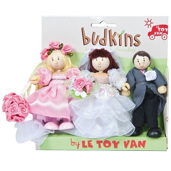 Budkins Gift Pack - Wedding Day - Little Whale