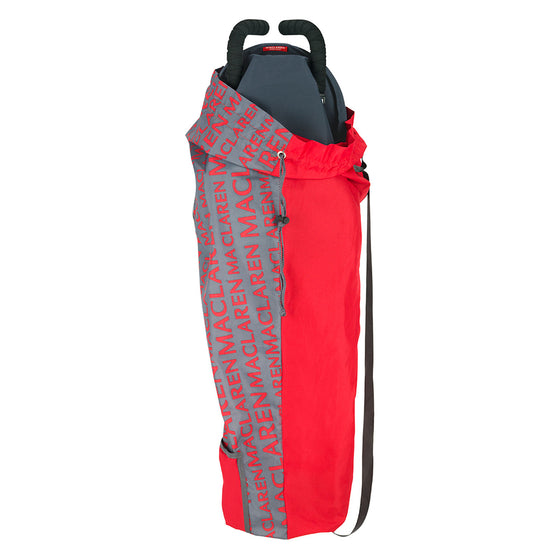 Lightweight Storage Bag Charcoal/Cardinal - Little Whale
