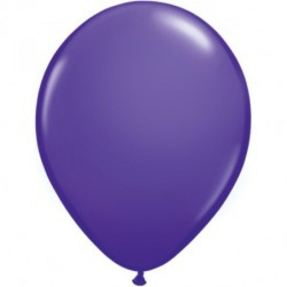 Violet Latex balloon - Little Whale
