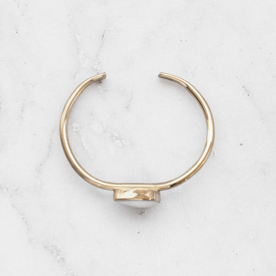 COWRIE SHELL BANGLE
