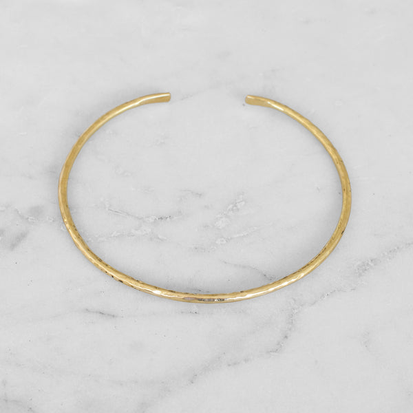 DENTED CHOKER BRASS