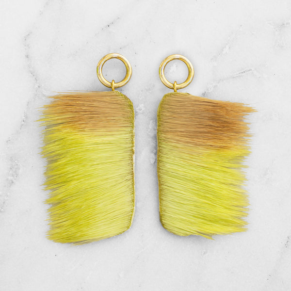 SPRINGBOK FUR TONY EARRINGS