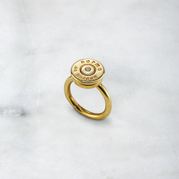BULLET RING BRASS