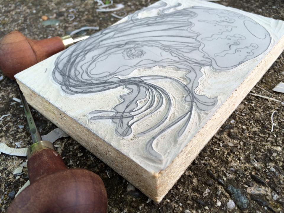 Jellyfish carving update