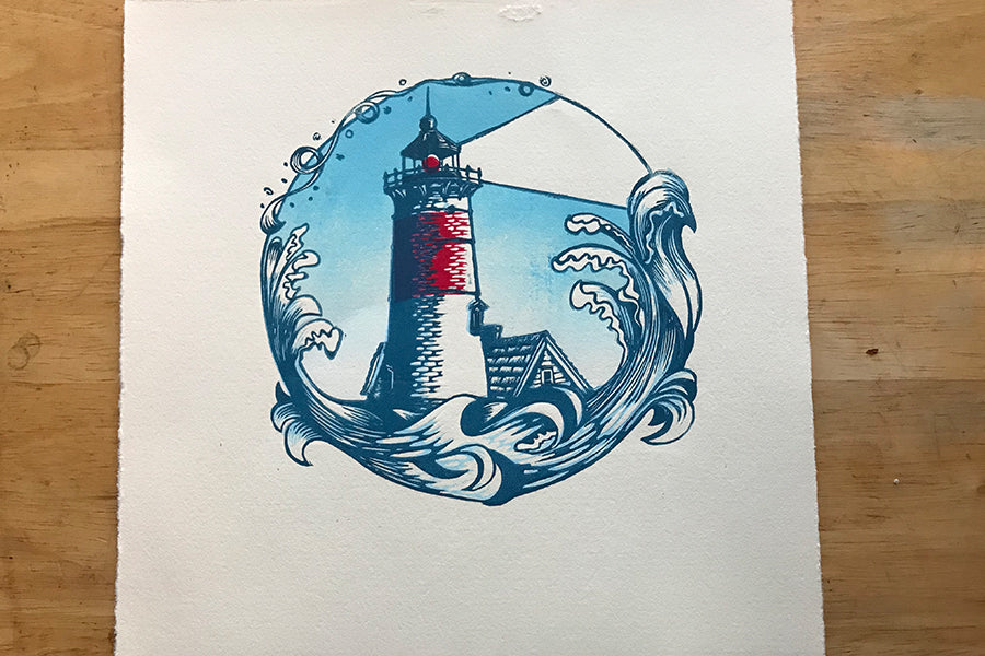 Color Test Lighthouse Daylight - Paprika Press Printshop