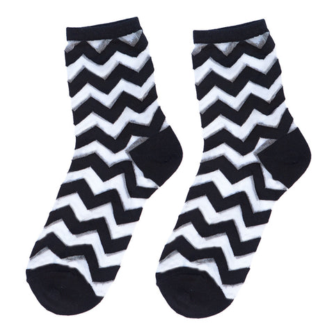 Glasshouse Chevron (Black)