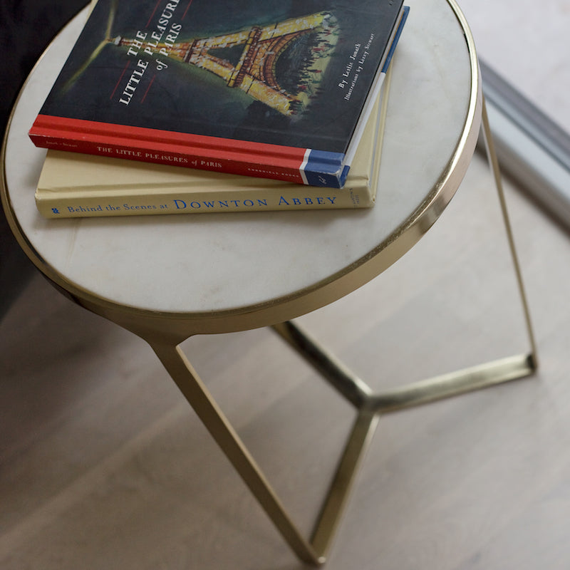 Milan Marble Accent Table