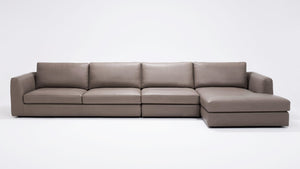 Cello Leather Sectional