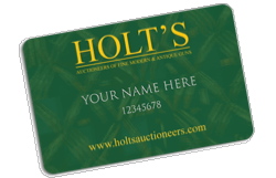 Holts Gift Voucher 2500 - Holt's Shop