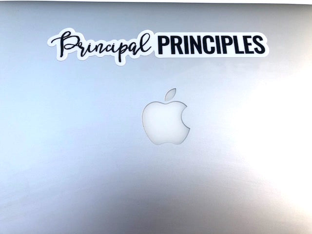 Principal Principles Sticker