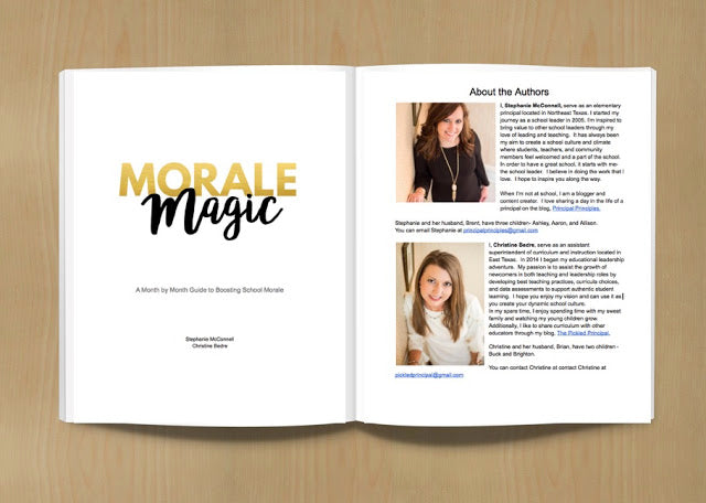 Morale Magic-The Ultimate eBook for Boosting School Morale