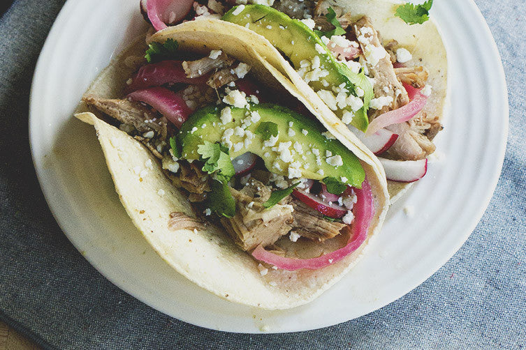 Braised Pulled Pork Tacos