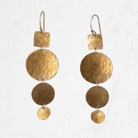 ALOPEX Circles Earring
