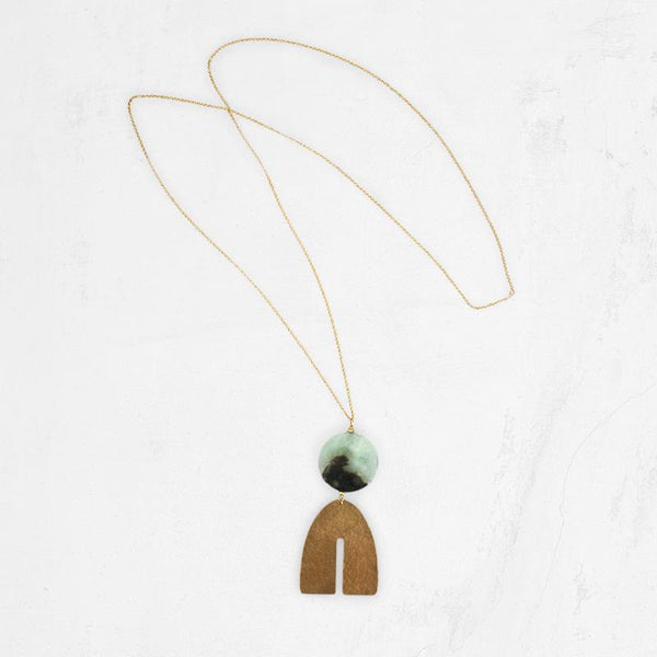 ARCTIC Long Pendant Necklace