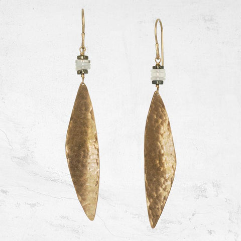 ESCARPMENT Asymmetrical Drop Earring