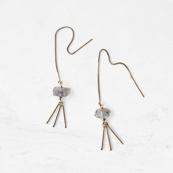 GLACIER Threader Earrings