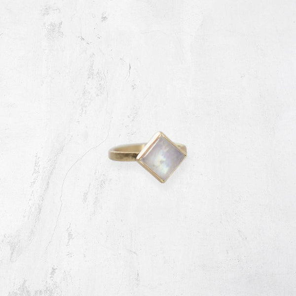 SAHARA Rhombus Ring - OH LITTLE FOXES