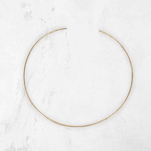 SHAA Metal Choker Necklace