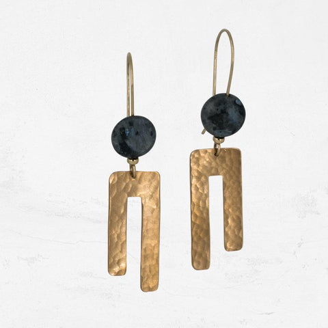 TUNDRA Asymmetrical Drop Earring