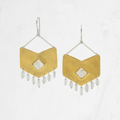 VIXEN Chandelier Earrings - OH LITTLE FOXES
