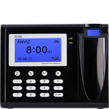 ANVIZ D100 Stand Alone Biometrics Time Attendance with FREE Payroll Software
