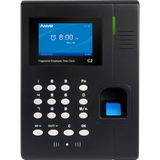 ANVIZ C2 ID Stand Alone Biometrics Time Attendance with FREE Payroll Software