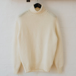 Soft Lambswool Roll Neck Jumper