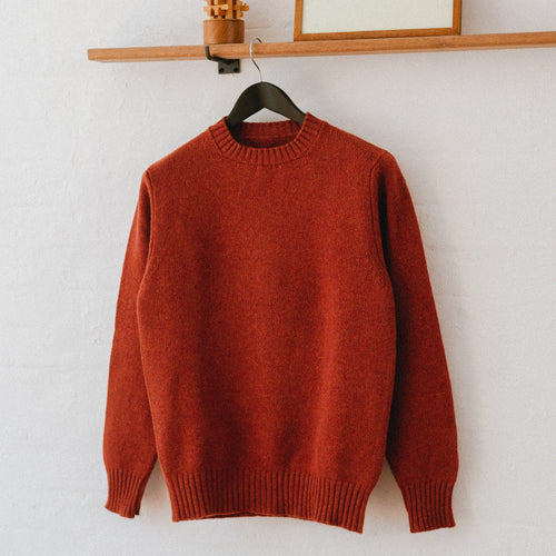 Soft Lambswool Crew Neck Jumper