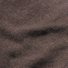 Dean - Soft Lambswool Crew Neck Jumper - Brown