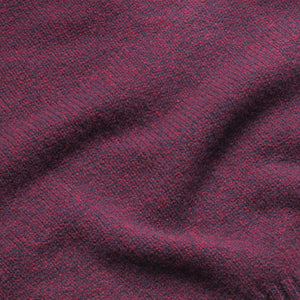 Dean - Soft Lambswool Crew Neck Jumper - Burgundy