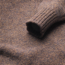 Dean - Soft Lambswool Crew Neck Jumper - Driftwood