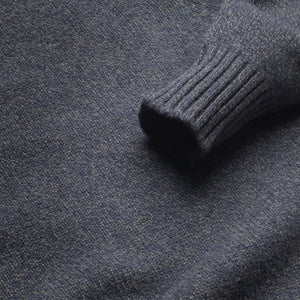 Dean - Soft Lambswool Crew Neck Jumper - Seaweed
