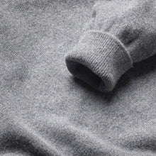 Lambswool Crew Neck Jumper - Grey