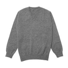 Fine Lambswool V-Neck Jumper - in various colours