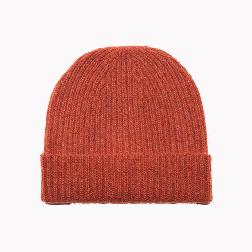 Burnt Orange Lambswool Hat