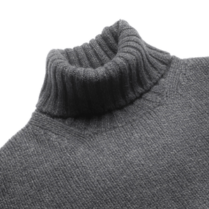 Seaweed Newman Lambswool Roll Neck Jumper