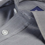 Light Grey Non-Iron Twill
