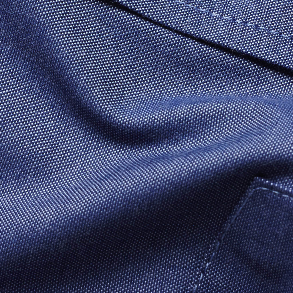 Dark Blue Pinpoint Oxford