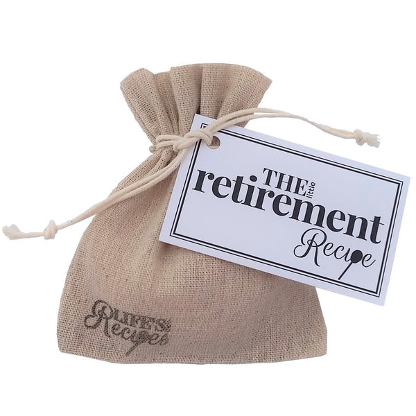 The Little Retirement Recipe