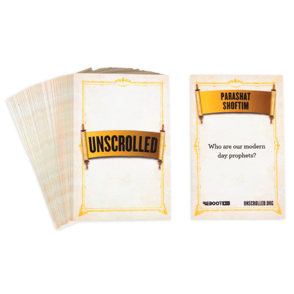Unscrolled @ Your Table Cards: Super Set - Jewish Gifts, Collectibles and Judaica | Reboot Shop