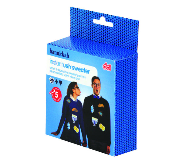 Hanukkah Instant Ugly Sweater from DCI Gifts - Jewish Gifts, Collectibles and Judaica | Reboot Shop