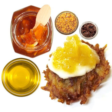 Top of the Latke from Mouth