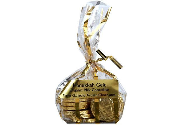 Milk Chocolate Hanukkah Gelt from Mouth - Jewish Gifts, Collectibles and Judaica | Reboot Shop
