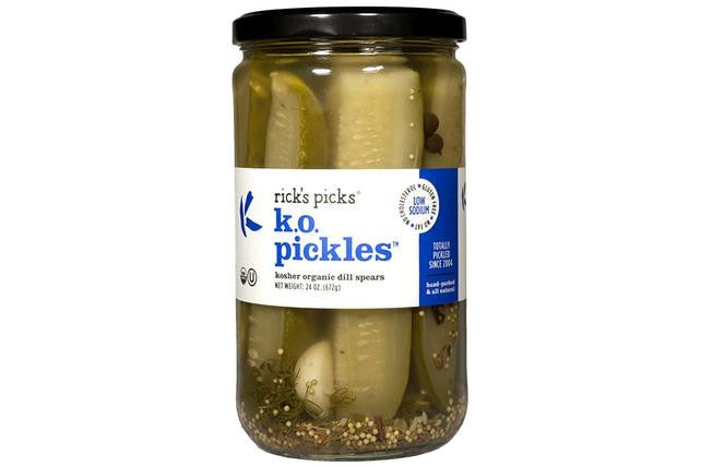 Rick's Picks' Kosher Organic Dill Pickles from Mouth - Jewish Gifts, Collectibles and Judaica | Reboot Shop