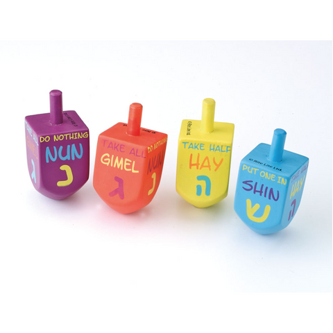 Wooden Dreidel Set from Rite Lite - Jewish Gifts, Collectibles and Judaica | Reboot Shop