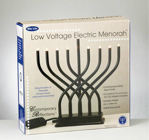 Modern Electric Menorah from Rite Lite - Jewish Gifts, Collectibles and Judaica | Reboot Shop