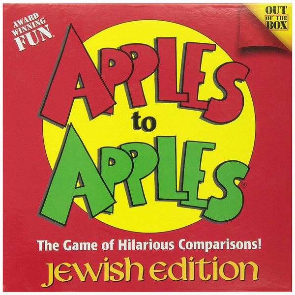 Apples To Apples: Jewish Edition - Jewish Gifts, Collectibles and Judaica | Reboot Shop